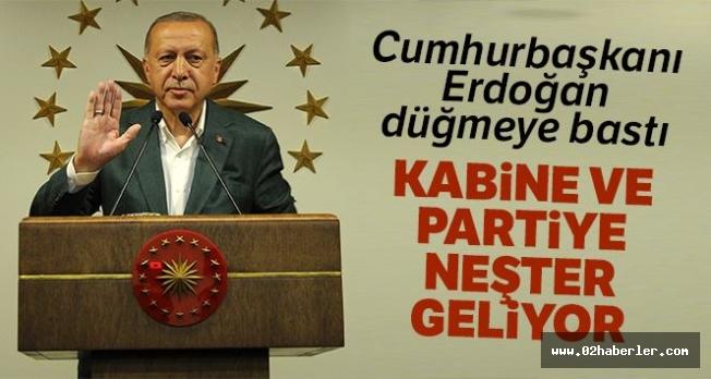 Erdoğan'dan Değişim Sinyali