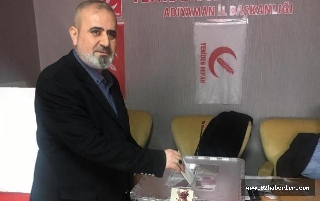 Yeniden Refah Partisi Merkez İlçe Başkanlığına Özcan Bozkurt, seçildi