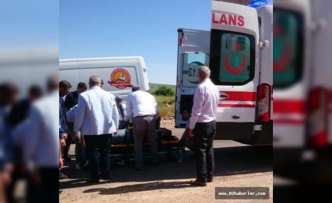 Adıyaman'da tanker devrildi: 1 Yaralı