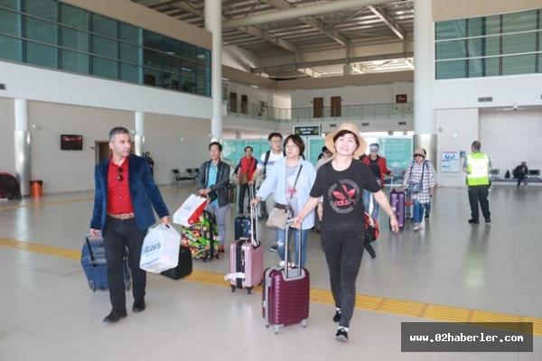 Adıyaman'a yılın ilk Koreli turist kafilesi geldi