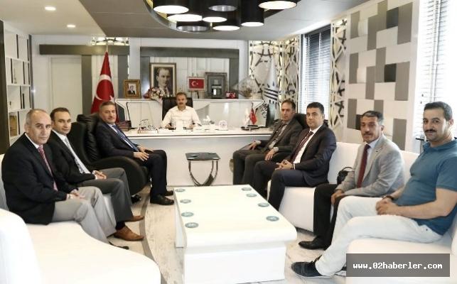 Aslandere'den Başkan Kılıç'a Ziyaret