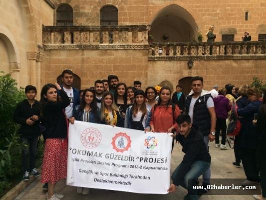 Gençler Mardin'de tarihi yolculuğa çıktı