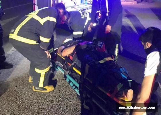 Otomobil takla attı: 2 Yaralı