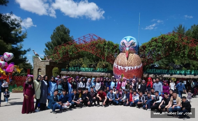 Sincikli gençler Gaziantep'i gezdi