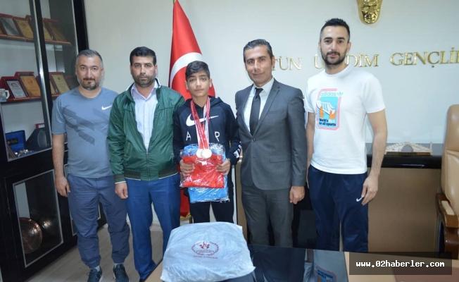 Zaif, Taekwondo'da Türkiye Üçüncüsü Oldu