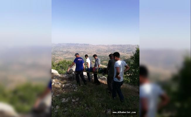 Doğa Yürüyüşüne Çıkan Şahıs Kayalıklardan Düştü