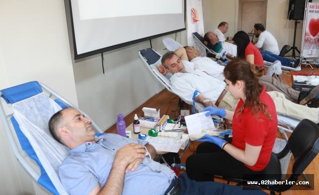 Adıyaman'da kan bağış kampanyası