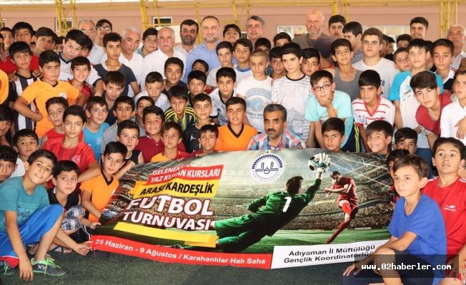 Camiler Arası Kardeşlik Futbol Turnuvası başladı