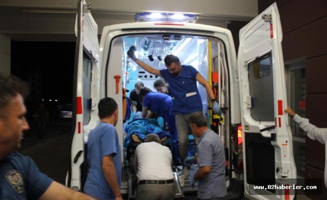 Sincik'te Polis Aracına Saldırı: 1 Polis Yaralı