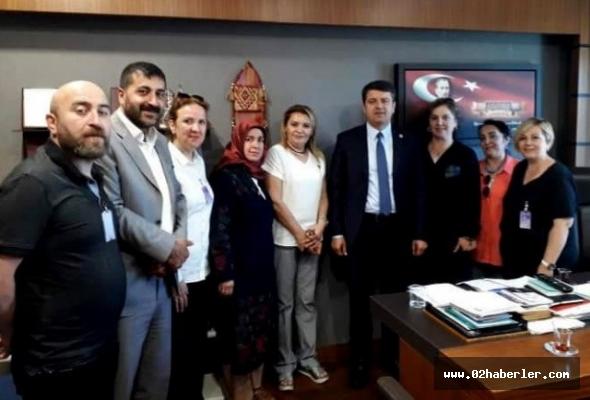 Usta öğreticiler sorunlarını Ankara'ya taşıdı