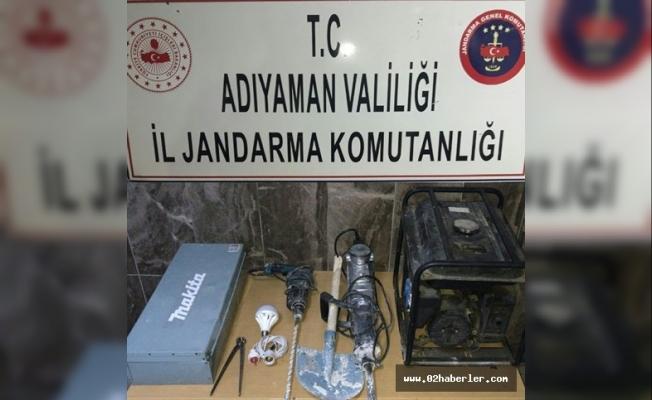Jandarmadan definecilere operasyon: 7 gözaltı