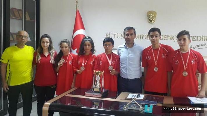 Judocular Sinop'tan Başarıyla Döndü