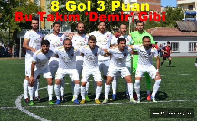 Kahta 02 Spor gol oldu yağdı