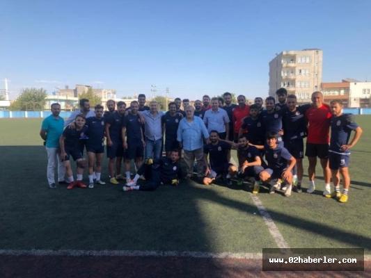 Kahtalı Mıçı Kahta02 Spor'a onursal başkanı seçildi