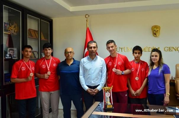 Sporcularımız 1 Altın, 3 Bronz Madalya Aldı