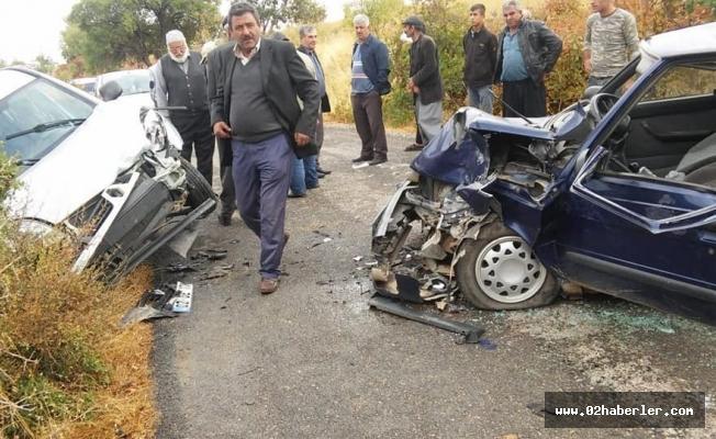 Besni'de trafik kazası: 6 yaralı