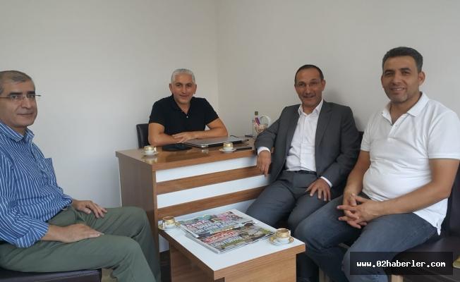 Dağtekin'den Sabah Gazetesi Bürosuna Ziyaret