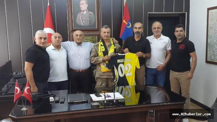 MASDER'den Ercan Atasoy'a Ziyaret