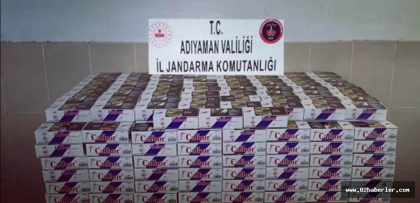 Adıyaman'da Kaçak Makaron Ele Geçirildi: 2 Gözaltı