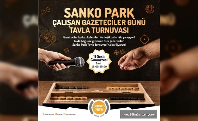 SANKO Park'ta Ödüllü Tavla Turnuvası Düzenlenecek