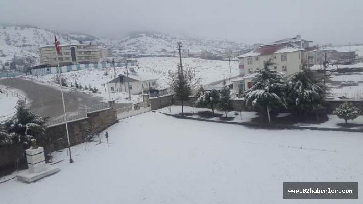 Sincik'te Kar Yağışı Etkili oldu