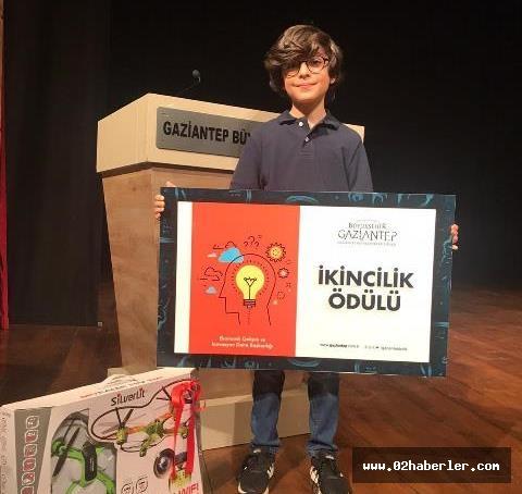Sanko Okulları Öğrencisi Çınar Aydoğdu Türkiye İkincisi Oldu