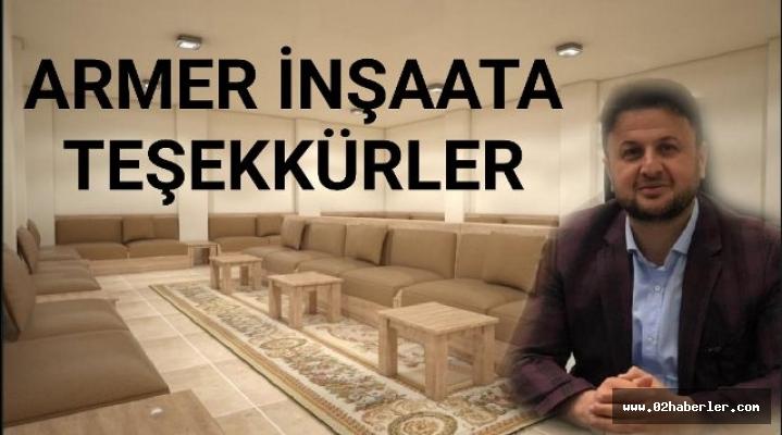 İşadamı Murat Armer'den Narince Köyüne Destek