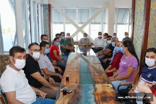 Kılınç'tan Sağlıklı Yaşam Spor Komplesine Ziyaret