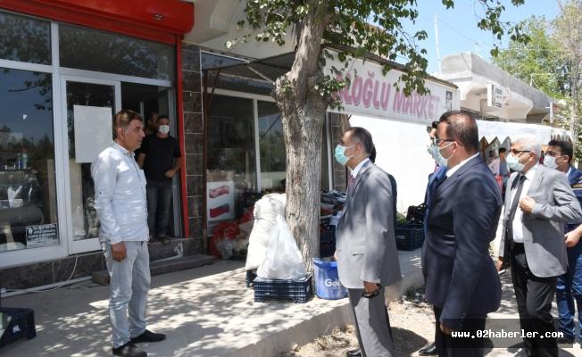 Vali Çuhadar'dan Samsat'a Ziyaret