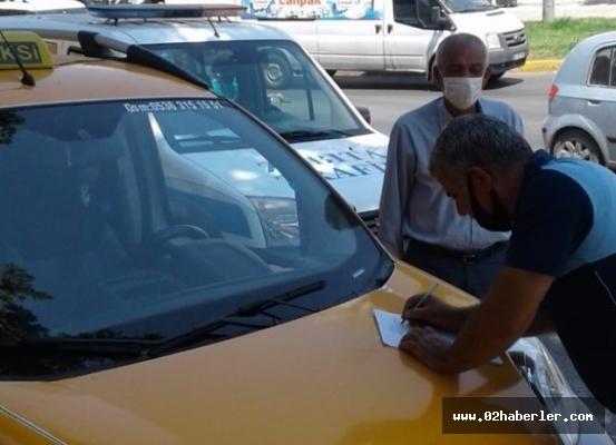 Zabıtadan Ticari Taksi Denetimi