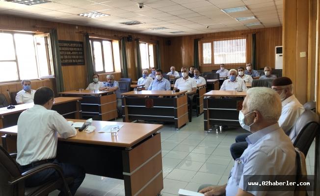 AK Parti İl Genel Meclis Grup Toplantısı Yapıldı