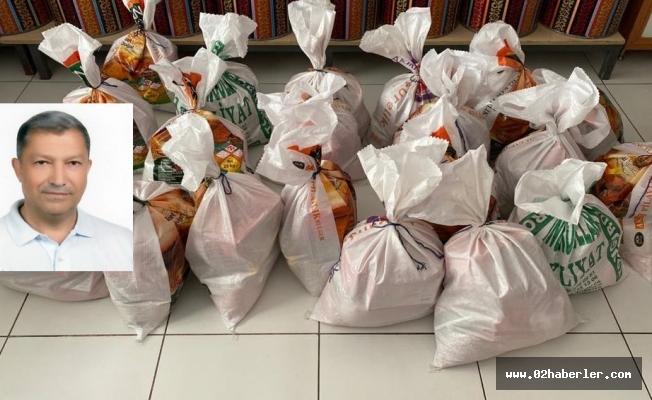 Hemşehrimiz Ömer Emre'den 200 Aileye Gıda Yardımı