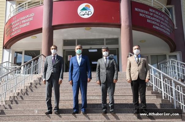 Vali Çuhadar'dan Yatırımcı Bölge Müdürlüklerine Ziyaret