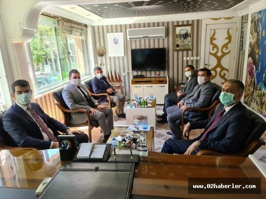 Vali Çuhadar'dan Başkan Yıldırım'a Ziyaret