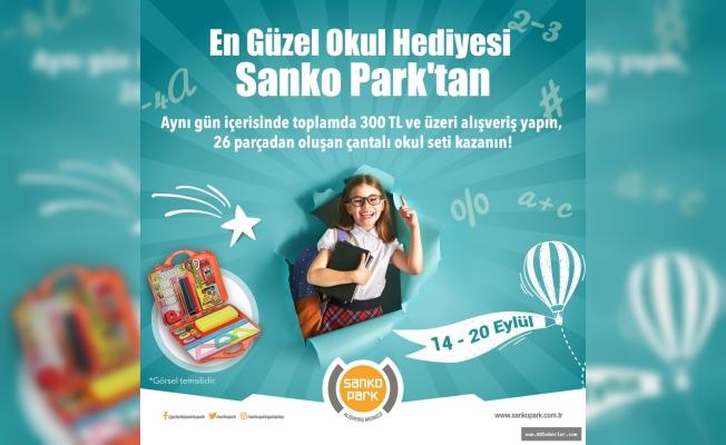 En Güzel Okul Hediyesi Sanko Park'tan