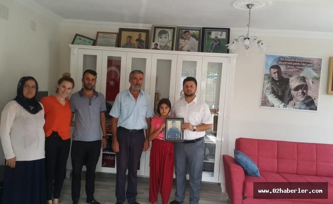 Murat Armer'den Şehit Ailesine Destek