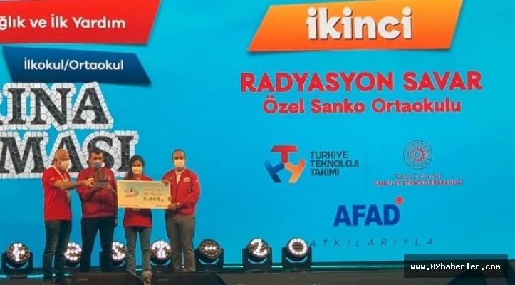 Sanko Okulları'nın Projesi Türkiye İkincisi Oldu