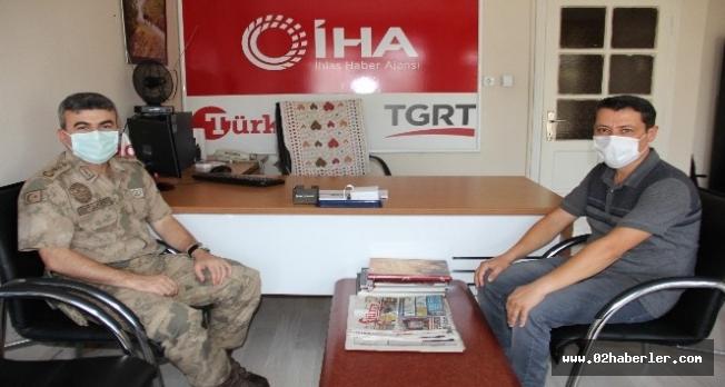 Albay Yeşilyurt'tan, Arslantaş'a ziyaret