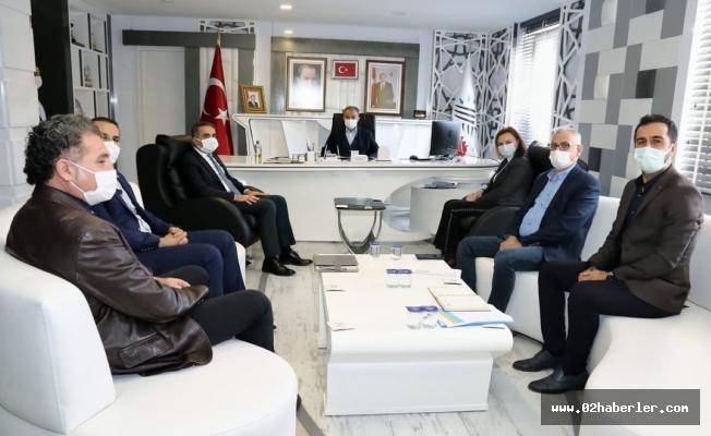 Afşeören'den, Başkan Kılınç'a Ziyaret