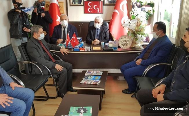 AK Parti Heyetinden MHP'ye Hayırlı Olsun Ziyareti