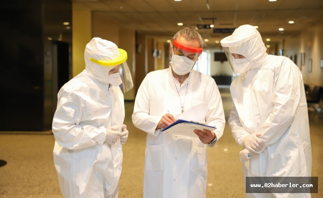 Sanko Üniversitesi Hastanesi'nde, Covıd- 19 Tedavisi Başarısı