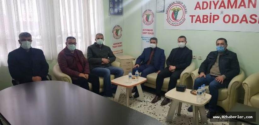 AK Parti Merkez İlçe Teşkilatından STK'lara Ziyaret