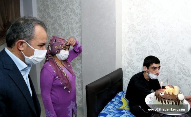 BaşkanKılınç, Engelli Sedat'ın Davetine İcabet Etti