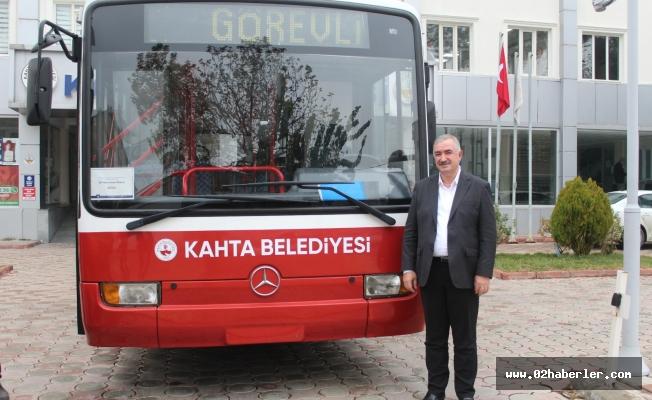 İBB'den Kahta Belediyesine Otobüs jesti