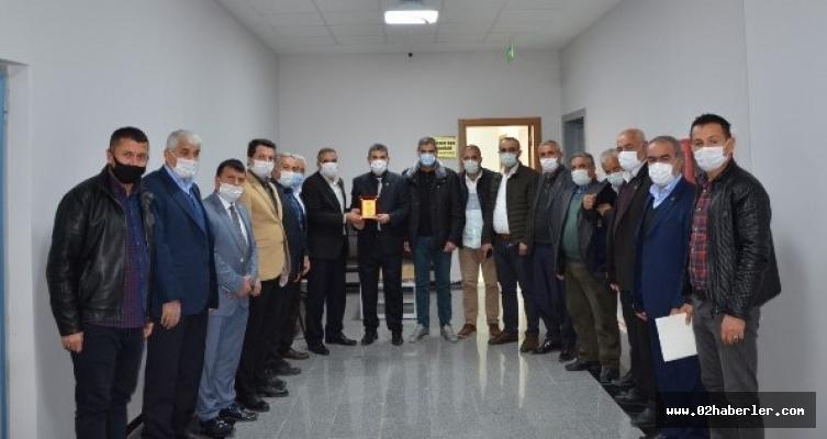 Muhtarlardan Meclis Başkanı Erdoğan'a Ziyaret