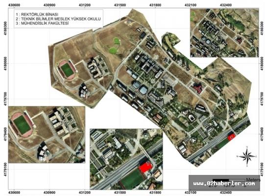 Adıyaman Belediyesi, ADYÜ'nün Bina Envanterini Çıkardı