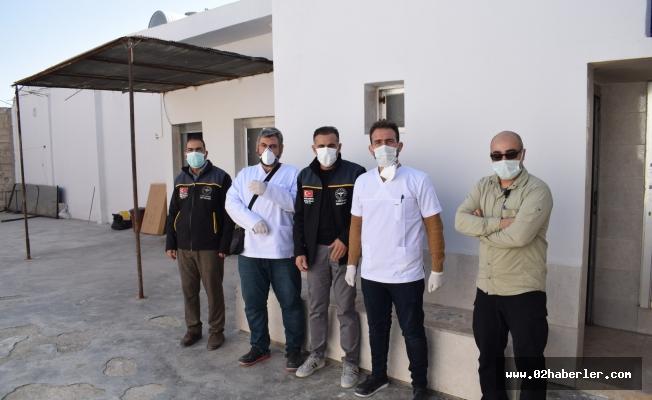 Barış Pınarında PCR Laboratuvarı Kuruldu