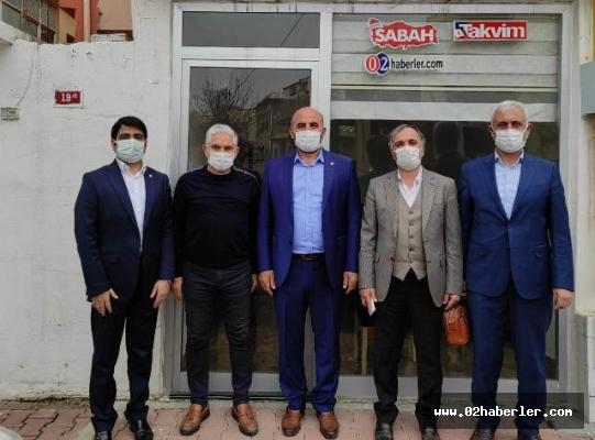 Başkan Deniz'den Gazetemize Ziyaret