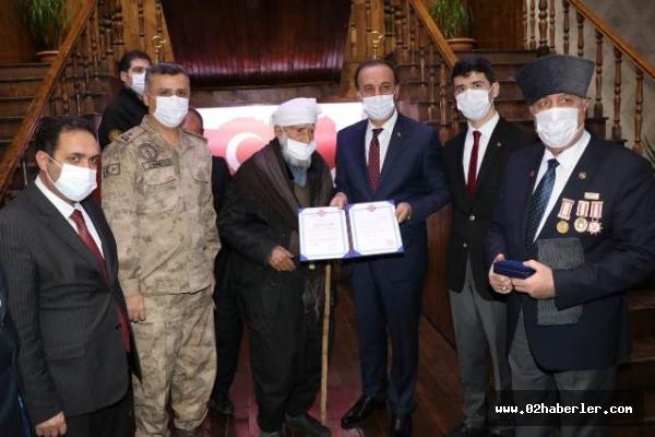 Siverekli Kore Gazisi 68 Yıl Sonra Madalyasına Kavuştu