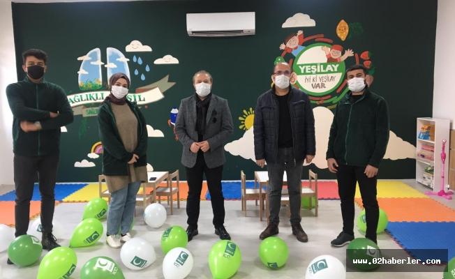 Yeşilay Kulüp Odası Projesi Gerçekleşti